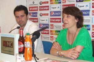 Raúl Molina y Susana Duque.
