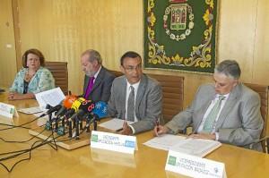 Reunión de las diputaciones gobernadas por el PSOE, a la que ha asistido Ignacio Caraballo.