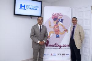 Presentación del IX Meeting Iberoamericano de atletismo.