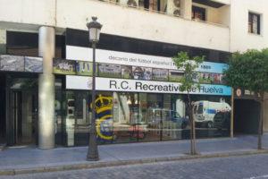 Nueva tienda del Recreativo de Huelva.
