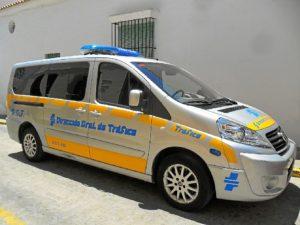 Vehículo de la Policía Local.