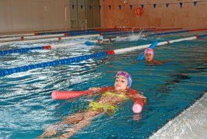 Apertura de la piscina de Cartaya.