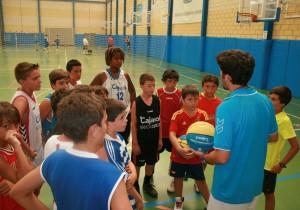 Campus de verano de baloncesto Cajasol.