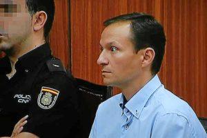 Bretón en la última jornada del juicio que se celebró en Córdoba contra él. (Foto: Madero Cubero)