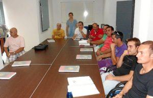 Participantes en el curso de Coopinte.