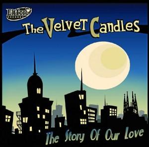 Portada de una de las producciones de The Velvet Candles.