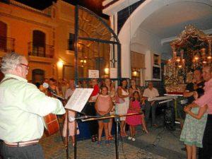 Actuación de Manolo Correa.