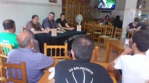 Presentación del CDB Enrique Benítez 'Por Huelva'.
