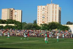 Partido amistoso entre el Betis y el Sporting de Braga.