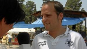 Uno de los participantes en el Coquina Festival.