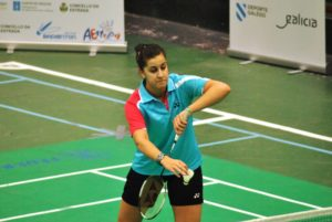 Carolina Marín en el Campeonato de España Absoluto 2013.