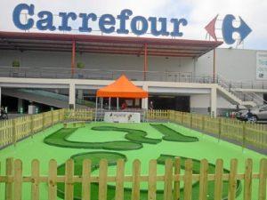 Instalaciones de Carrefour en Cartaya.