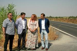Visita a la carretera una vez finalizadas las obras de mejora.