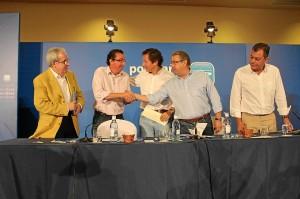 Clausura de la Escuela de Verano del PP andaluz, celebrada en El Rompido.