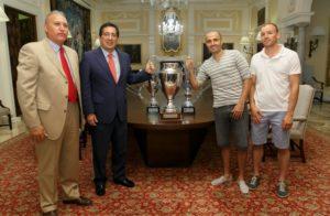 Convenio Fundación Cajasol con Club de Sordos de Huelva.