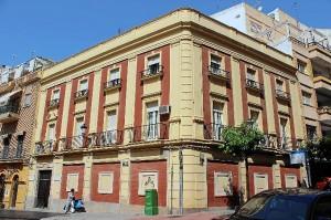 Imagen actual del edificio.