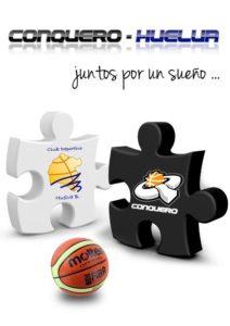 Fusión entre el CB Conquero y el CD Huelva Baloncesto.
