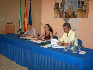 La delegada estuvo en la constitución del consejo de mayores.