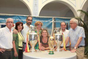 Copa del Mundo y Eurocopas en Ayamonte.