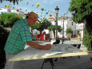Imagen de archivo de la semana cultural en Cortelazor.
