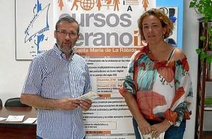 Rafael Terán y Yolanda Pelayo.