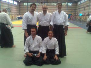 Integrantes del Club Deportivo Judo Huelva.