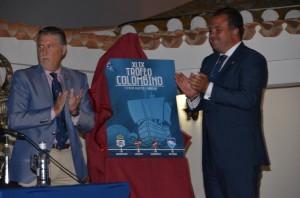 Cartel del IXL Trofeo Colombino de fútbol.