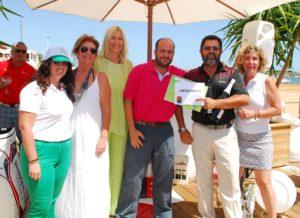 Ganadores del Circuito Atlántico de golf.