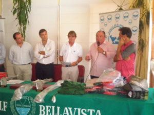 Entrega de Premios I Torneo de golf Banco de Alimentos de Huelva.