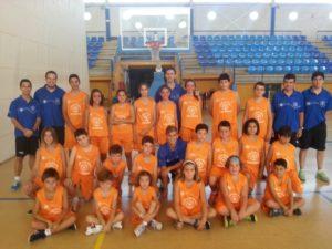 Campus de baloncesto en La Palma 'Fran Cárdenas'.