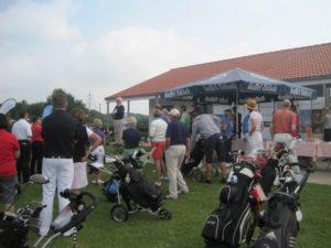 Torneo de golf en Colonia.