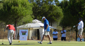 Torneo de golf Cruz Roja.