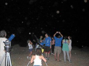 Campo de Tejada ha vivido la primera Noche Astronómica.