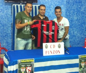 Nuevos jugadores del CD Pinzón.