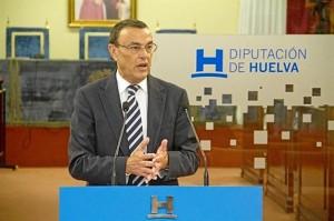 Ignacio Caraballo, presidente de la Diputación Provincial de Huelva.