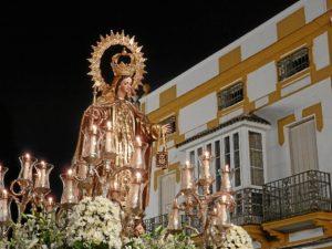 La Bajad de la Virgen.