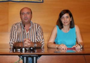 Manuel Morales y Teresa Ollero, del PAN Moguer.