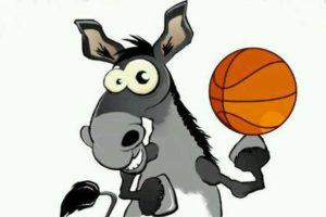 Mascota Club Baloncesto Moguer.
