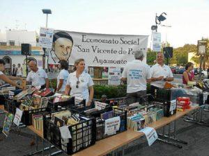 Mercadillo del libro en Ayamonte.