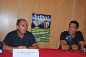 Partido amistoso entre Betis y Sporting de Braga en Isla Cristina.