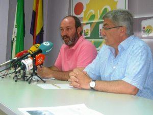 Jiménez y Arazola en rueda de prensa.