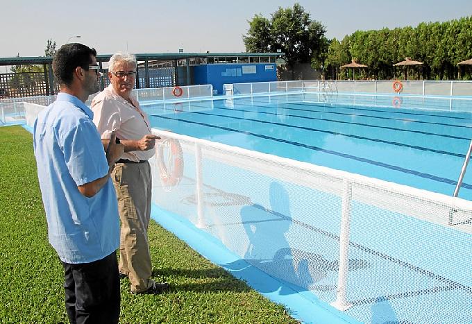 Apertura de la piscina de san juan por la temporada de verano for Piscinas san juan pamplona
