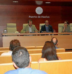 Presentación en el Puerto del proyecto.
