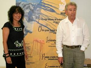 Elena Tobar y José Sacristán.