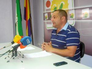 Rafael Sánchez en rueda de prensa este lunes.
