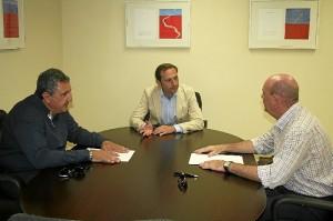 Reunión de Márquez con representantes de Upeco.