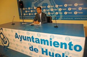 Felipe Arias en rueda de prensa.