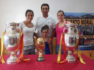 Copa del Mundo y Eurocopas en Puerto Moral.