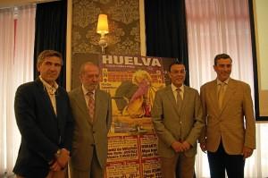 Presentación en Sevilla del ciclo taurino de Colombinas en Huelva.