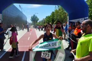 Marcial González, campeón de Andalucía.